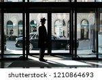 riga  september 2018   new... | Shutterstock . vector #1210864693