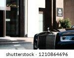 riga  september 2018   new... | Shutterstock . vector #1210864696