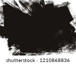 black and white abstract grunge ... | Shutterstock .eps vector #1210868836
