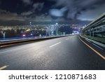 hongkong skyline and road | Shutterstock . vector #1210871683