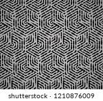 abstract geometric pattern with ... | Shutterstock .eps vector #1210876009