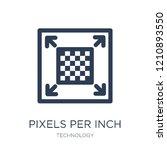 pixels per inch icon. trendy... | Shutterstock .eps vector #1210893550