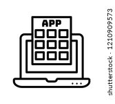 apps vector icon