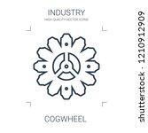 cogwheel icon. high quality... | Shutterstock .eps vector #1210912909