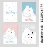 cute lovely poster  postcard... | Shutterstock .eps vector #1210916479