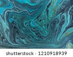 marble abstract acrylic... | Shutterstock . vector #1210918939