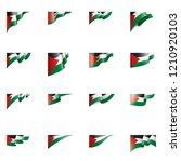 palestine flag  vector...   Shutterstock .eps vector #1210920103