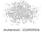 light silver  gray vector... | Shutterstock .eps vector #1210920526
