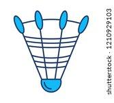 shuttlecock   badminton   sport    Shutterstock .eps vector #1210929103