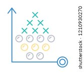 tactic   strategy   planning   | Shutterstock .eps vector #1210930270