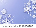 merry christmas and happy new...   Shutterstock .eps vector #1210930786
