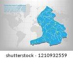 modern of liechtenstein map... | Shutterstock .eps vector #1210932559