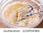 homemade baking with the grunge ... | Shutterstock . vector #1210934383