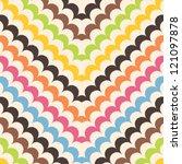 chevron scales pattern ... | Shutterstock .eps vector #121097878