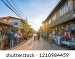 chiang khan loei province... | Shutterstock . vector #1210984459