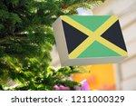 Jamaican Flag Printed On A...