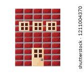 pixel video game | Shutterstock .eps vector #1211004370