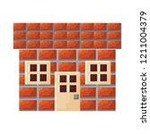 pixel video game | Shutterstock .eps vector #1211004379