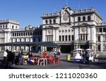 a main square at the guatemala... | Shutterstock . vector #1211020360