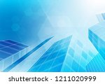 city background architectural... | Shutterstock .eps vector #1211020999
