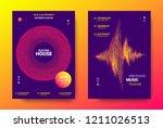 electronic festival music... | Shutterstock .eps vector #1211026513