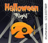 """halloween night"" jack o'... | Shutterstock .eps vector #1211037889"