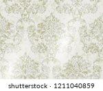 vintage damask background...   Shutterstock .eps vector #1211040859