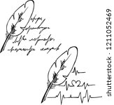 pen  meaningless drawing... | Shutterstock .eps vector #1211052469