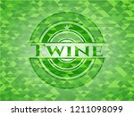 twine realistic green mosaic...   Shutterstock .eps vector #1211098099