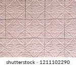 ceramic tile background with... | Shutterstock . vector #1211102290