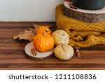 Autumn Cozy Composition With...