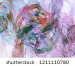 abstract background. digital... | Shutterstock . vector #1211110780