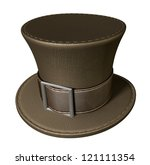 A Brown Material Mad Hatters...