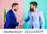 do not trust him. businessman... | Shutterstock . vector #1211115379