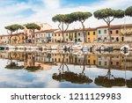 viareggio  italy 24 may 2018 ... | Shutterstock . vector #1211129983