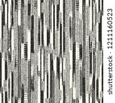 monochrome chaotic striped... | Shutterstock .eps vector #1211160523