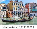 venice  italy   june 18  2014 ... | Shutterstock . vector #1211172859