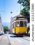 lisbon  portugal   july 30 ... | Shutterstock . vector #1211172880