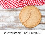 top view wrinkled red... | Shutterstock . vector #1211184886