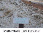 anemone geyser  upper geyser... | Shutterstock . vector #1211197510