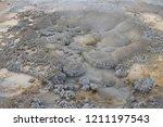 anemone geyser  upper geyser... | Shutterstock . vector #1211197543