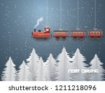 abstract background with santa... | Shutterstock .eps vector #1211218096