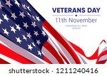 11th november   veterans day.... | Shutterstock .eps vector #1211240416