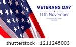 11th november   veterans day.... | Shutterstock .eps vector #1211245003