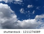 blue sky with clouds for... | Shutterstock . vector #1211276089