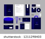 corporate identity set template ...   Shutterstock .eps vector #1211298403