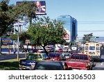 the city centre of guatemala... | Shutterstock . vector #1211306503