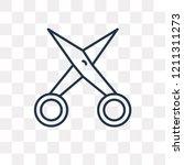 manicure scissors vector...   Shutterstock .eps vector #1211311273