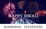 south north india diwali... | Shutterstock . vector #1211314156