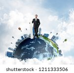 confident and successful... | Shutterstock . vector #1211333506